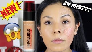 WORTH THE BUY OR NAW?!?||L'OREAL INFALLIBLE FRESH FOUNDATION