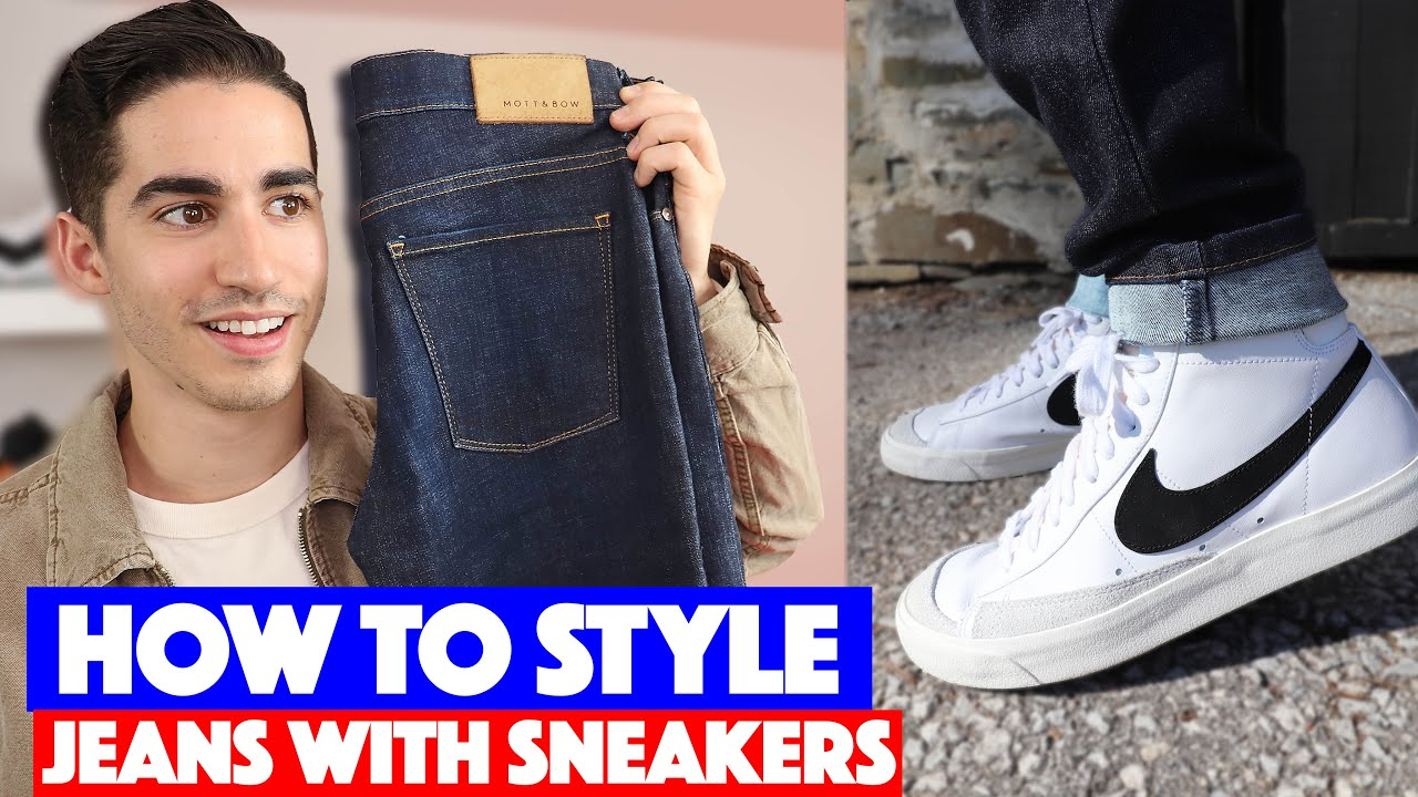 best nikes with jeans