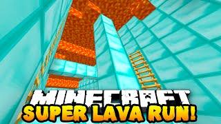 Minecraft SUPER LAVA RUN PARKOUR! (Race Against Lava!) w/PrestonPlayz & MrWoofless