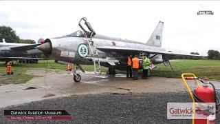 Gatwick Aviation Museum - Museum Tour and English Electric Lightning F53 Engine Start & Run-Up