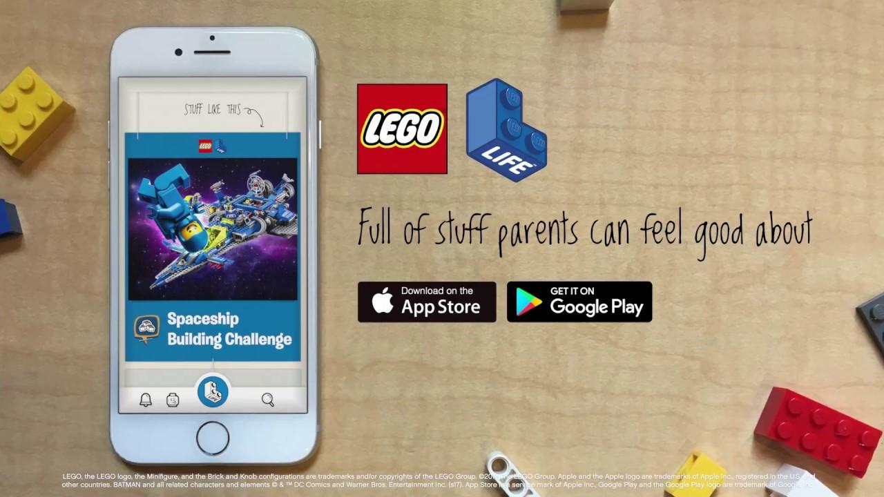 The LEGO Life app - A safe, social app designed for your kids!