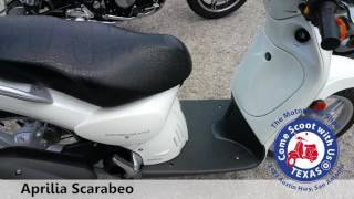 Used Motor Scooter for sale | Aprilia Scarabeo