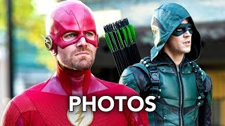 DCTV Elseworlds Crossover More Promotional Photos - The Flash, Arrow, Supergirl, Batwoman (HD)