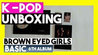 (Unboxing Brown) Eyed Girls [Basic] 6th album k-pop unboxing…