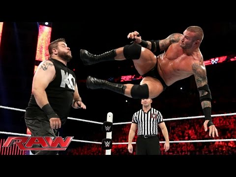 Randy Orton vs. Kevin Owens: Raw, July 27, 2015