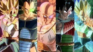 Find Anime xenoverse 2 partner customization color refrences