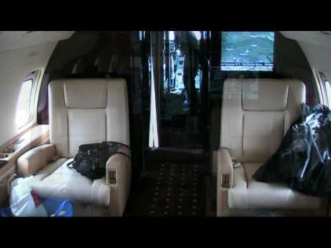 VistaJet - Bombardier Challenger 850 - Munich to Moscow