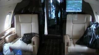 VistaJet - Bombardier Challenger 850 - Munich to Moscow