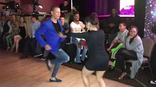 JESSICA QUILES & BETO ROJAS SALSA  DANCE AT SEATTLE SALSA CONGRESS 2018