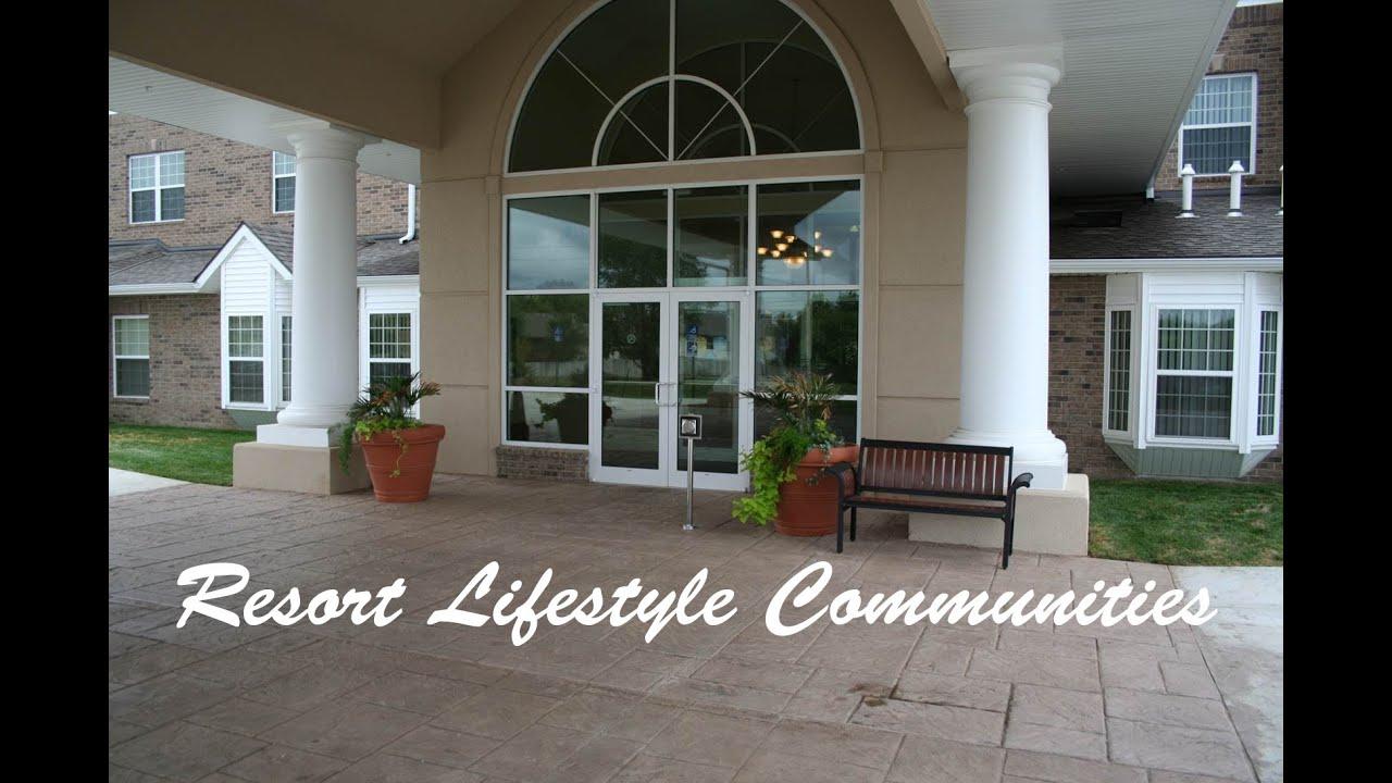 Resort Lifestyle Communities Retirement Resorts - YouTube