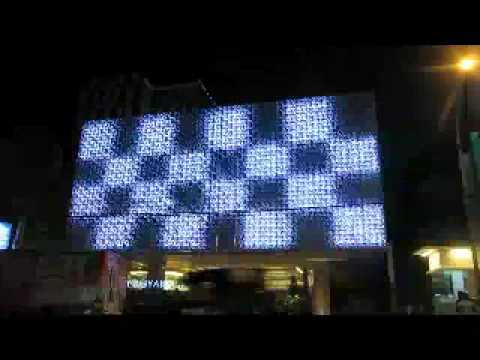 arco lighting rgb led action in aston hotel jogjakarta arco lighting