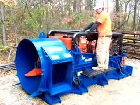 American Augers 48-500 Boring Machine