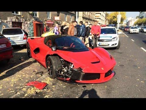 2016 Ultimate Ferrari Crash Compilation Youtube