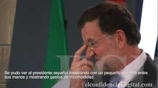 El nerviosismo de Rajoy y la tranquilidad de Monti