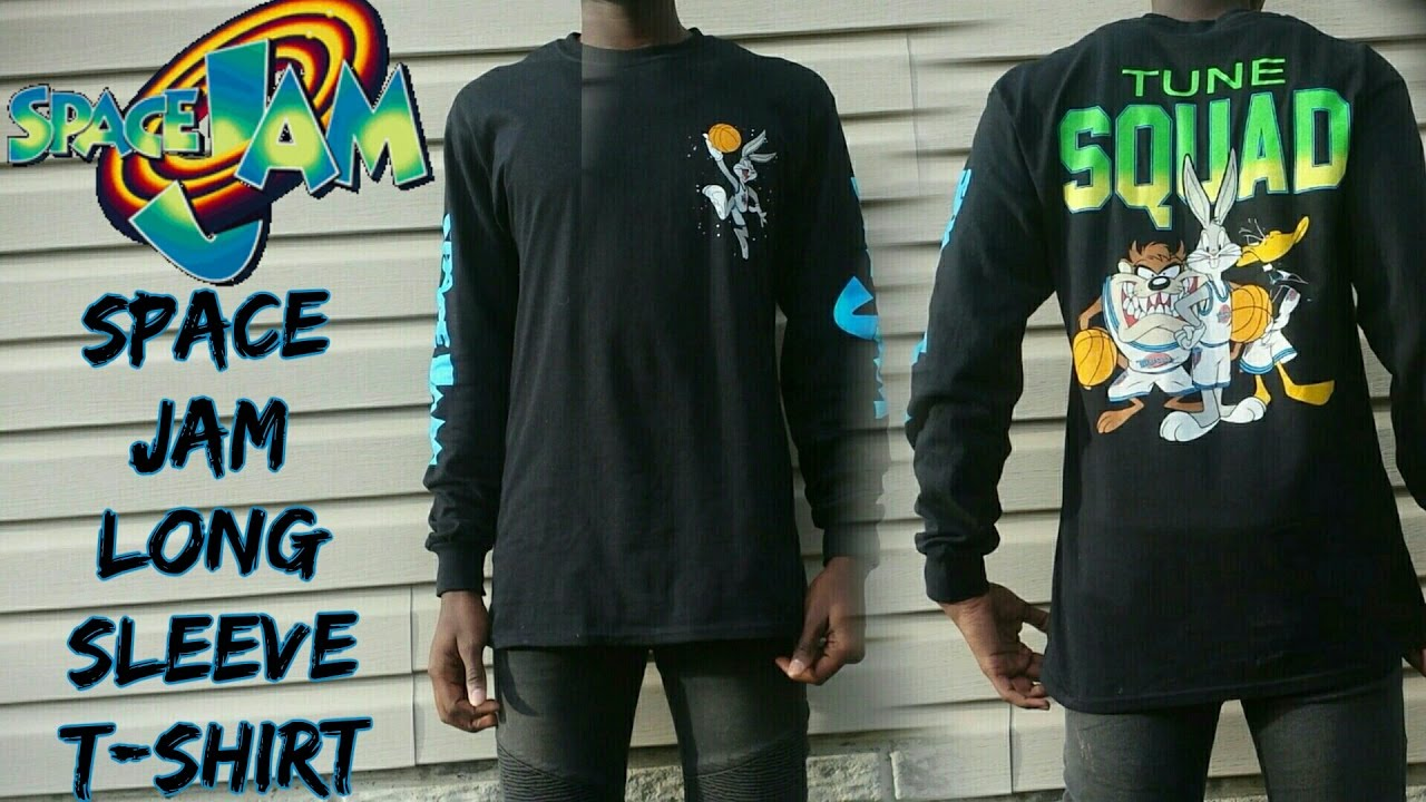 Space Jam Long Sleeve T Shirt Review Rue 21 Youtube