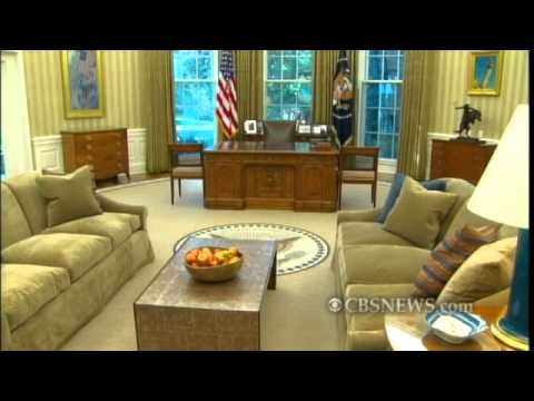 Oval Office Gets a Makeover
