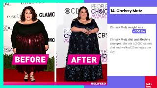 +25 Celebrity Weight Loss Stories that Will Inspire You - before and after pictures