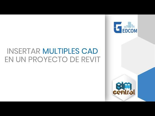 Insertar multiples CAD en diferentes vistas en Revit con Dynamo