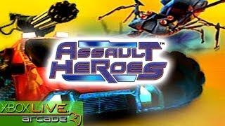 Assault Heroes - X360 XBLA Gameplay (XBOX 360 720P)