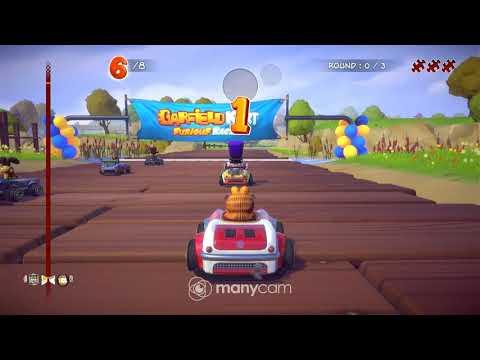 Garfield Kart Furious Racing Pc Steam Game Fanatical