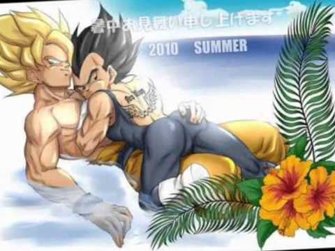 Goku x Vegeta Yaoi. SUPER HOT!