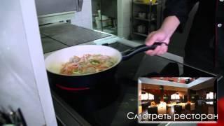 Как приготовить ресторанное блюдо на дому. Мясо веревочкой в кисло-сладком соусе(Мясо веревочкой в кисло-сладком соусе., 2014-12-11T08:31:26.000Z)