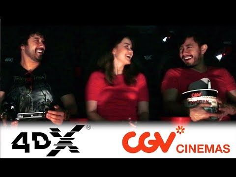 CGV CINEMAS - 4DX & HAUNTED THEATER EXPERIENCE | VLOG!