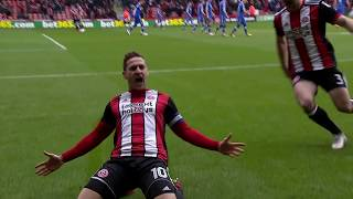 Blades 2-1 Leeds - match action