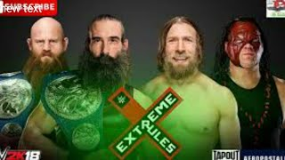 Kane & Daniel Bryan Attacked by Bludgeon Brothers - WWE Extreme Rules 15 July 2018 Highlights hd