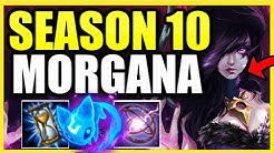 (INFINITE CC!) *THIS* IS HOW YOU PLAY MORGANA PERFECTLY IN SEASON 10!  MORGANA S10 BUILD AND GUIDE!