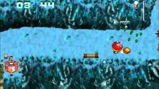 Mutant Penguins DOS Playthrough - Levels 16-18 & Some Mini Games