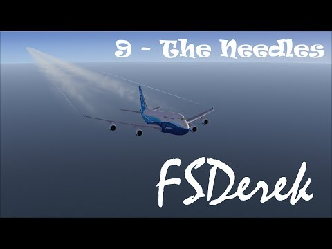 FSX Flying with a Pilot - 0009 The Needles
