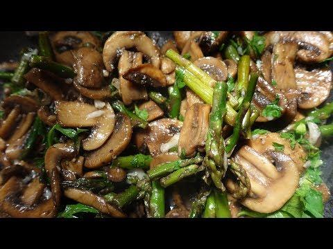 гарнир с грибами шампиньонами