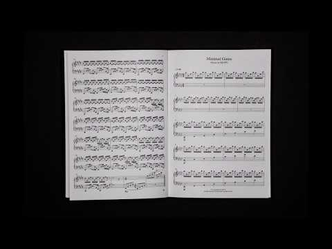 RIOPY Limited Edition Signed Sheet Music Book
