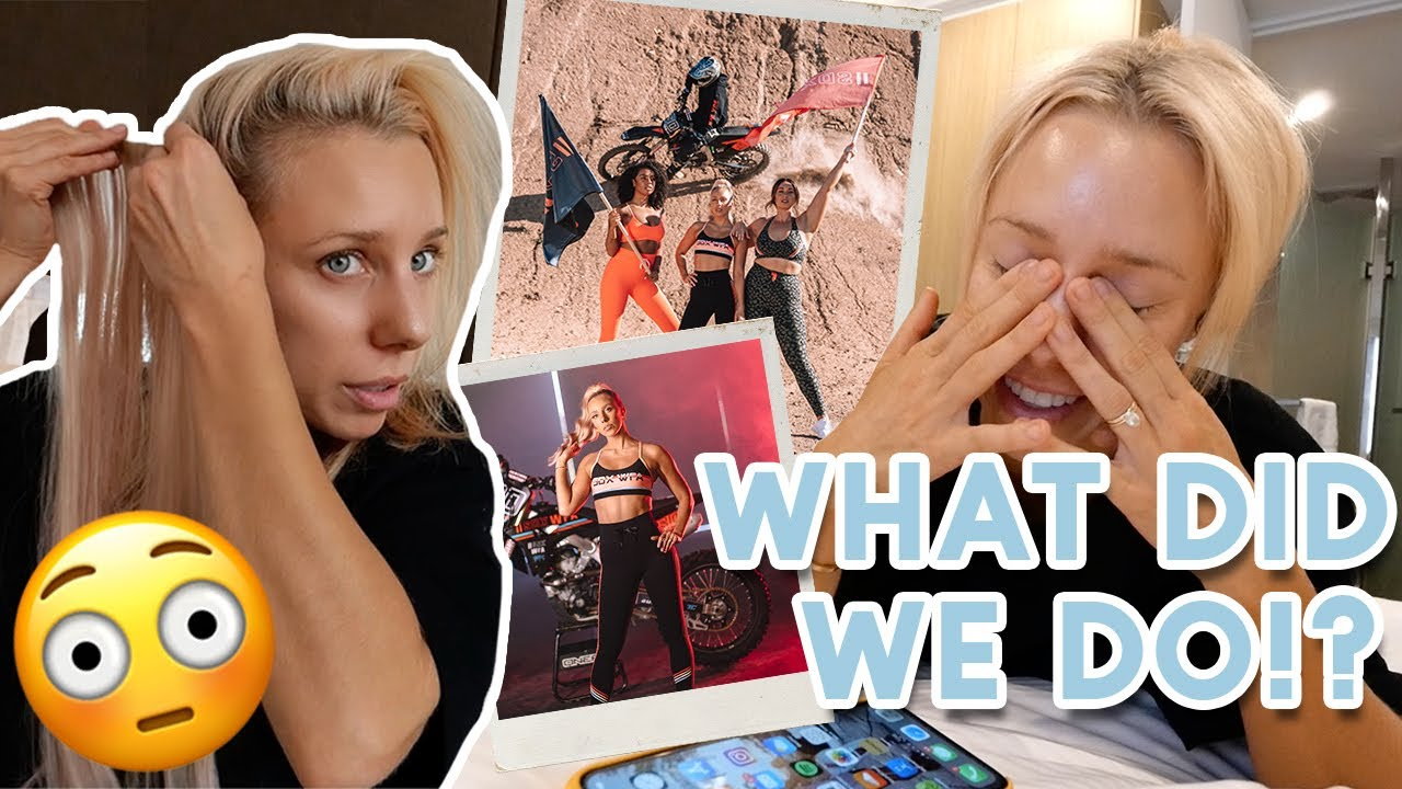what really happened behind the scenes...our BIGGEST shoot EVER! [vlog]