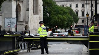 WATCH: UK terror suspect named as calls intensify for a no-car zone around London's parliament. thumbnail