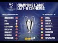 Who is in the Champions League round of 16, 2017/ 2018?