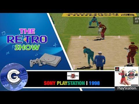 The Retro Show | Brian Lara Cricket | Playstation 1 | WEIRD BUZZING! | Retro Games