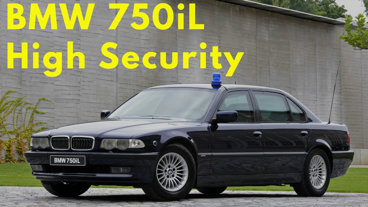 bmw 750il e38 bulletproof testing and assembly [ 1280 x 720 Pixel ]