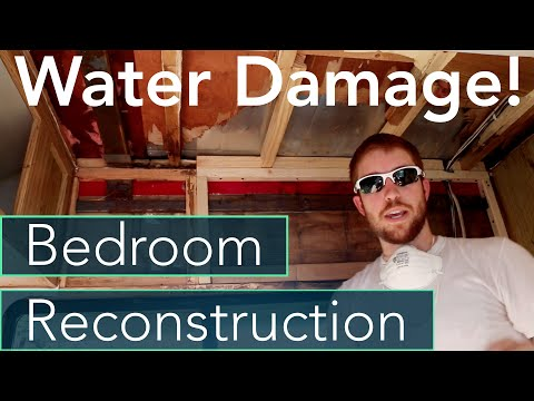 RV Water Damage Repair + Bedroom Reframing