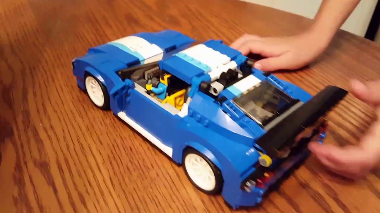 Dominics Review Of Lego Creator Set 31070 Turbo Track Racer Youtube