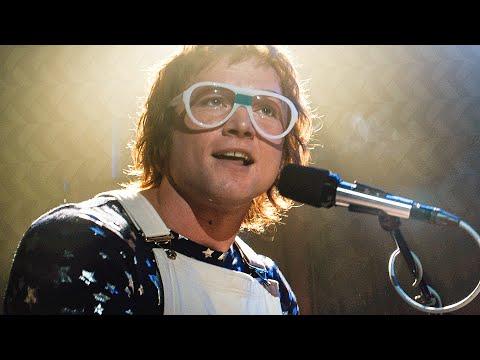 Crocodile Rock Song Scene - ROCKETMAN (2019) Movie Clip