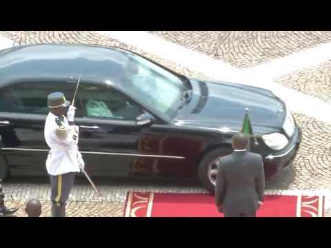 Visite Officielle au Cameroun de Monsieur Moussa Faki Mahamat, Président de la Commission de l'UA