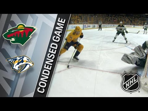 Minnesota Wild vs Nashville Predators – Mar. 27, 2018 | Game Highlights | NHL 2017/18. Обзор