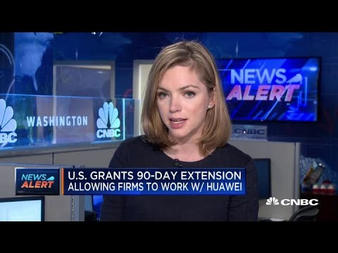 US Grants 90-day Extension To Firms To Work With Huawei