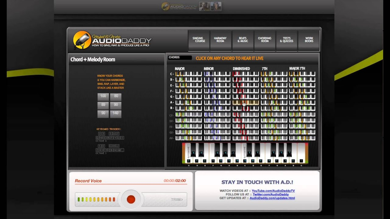 AudioDaddy Vocal Improvement Software Demo