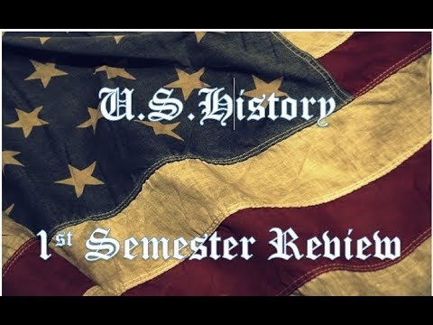 STAAR U.S. History 1st Semester Review