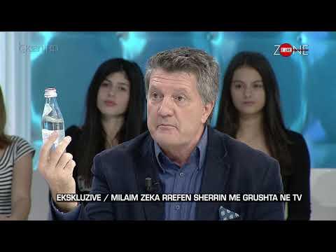 Zone e Lire/ Milaim Zeka rrefen sherrin me grushta ne televizion (06.10.17)
