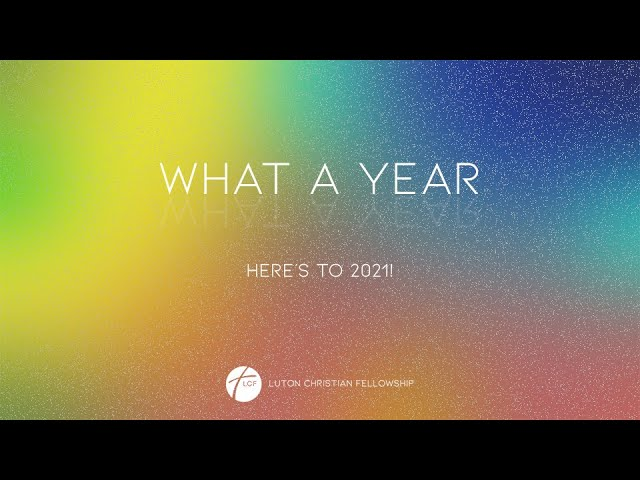 What A Year! Here's to 2021! // Spoken word