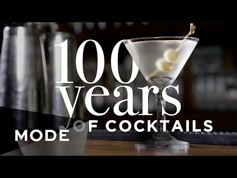 100 Years of Cocktails ★ Glam.com